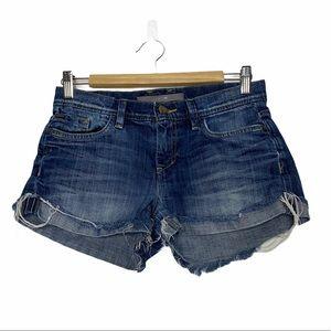 Joe's Jeans Sandy Wash Cuffed Denim Shorts